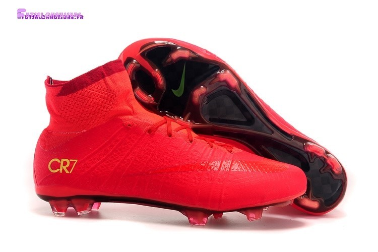 Rabais- Nike Mercurial Superfly CR7 FG Rouge