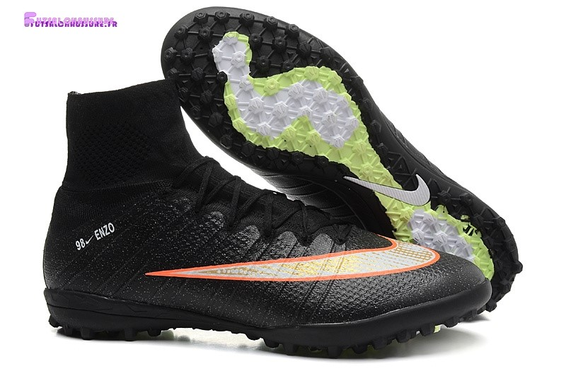 Rabais- Nike Mercurial Superfly CR7 TF Noir Orange