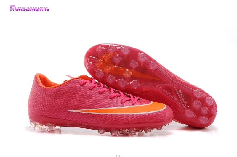 Rabais- Nike Mercurial X Vapor AG Rose Orange