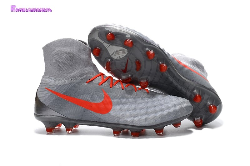 Rabais- Nike Magista obra II FG Orange Gris