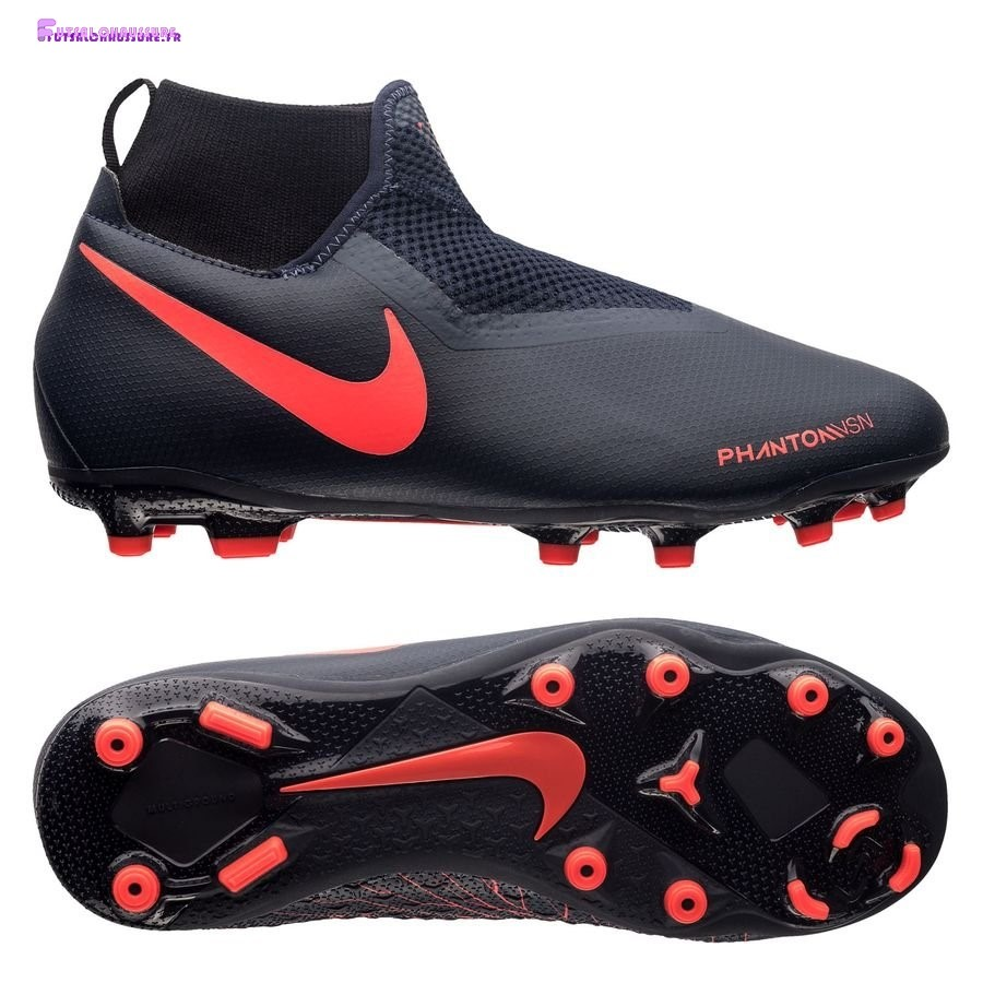 Rabais- Nike Phantom Vision Academy Enfant DF MG Fully Charged Noir