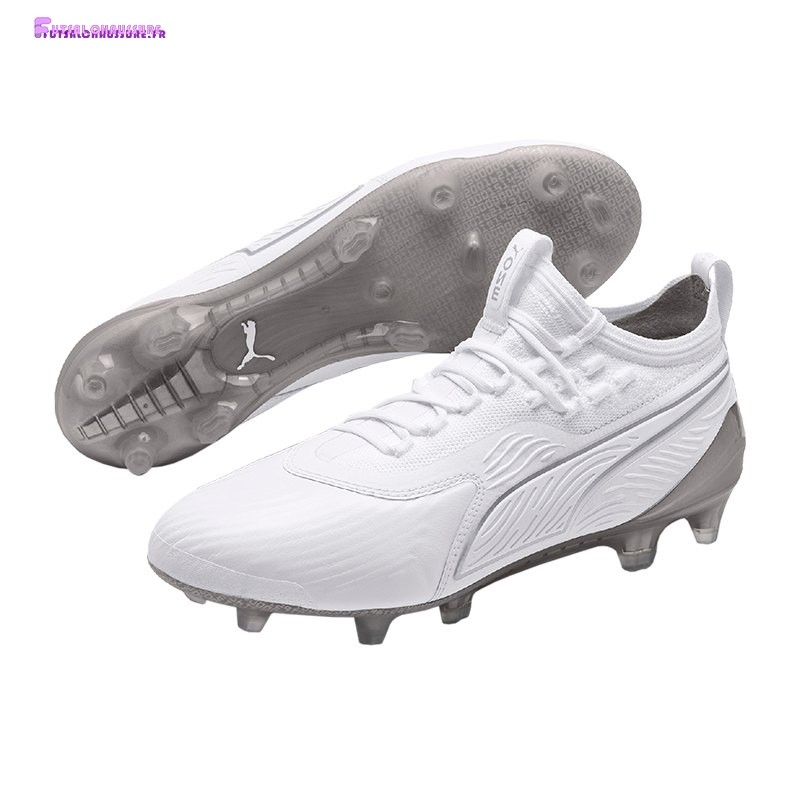 Rabais- Puma One 19.1 Limited Edition FG Blanc