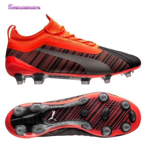 Rabais- Puma One 5.1 FG/AG Rouge