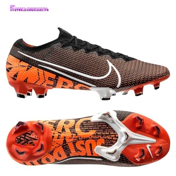 Rabais- Nike Mercurial Vapor 13 Elite FG Singles Day Orange