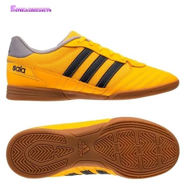 Rabais- Adidas Super Sala Enfant IC Or Gris