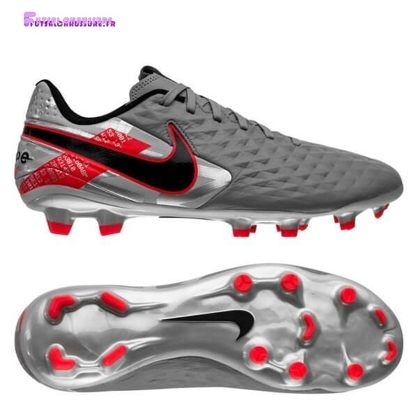 Rabais- Nike Tiempo Legend 8 Academy Femme MG Neighbourhood Métallique Gris Noir