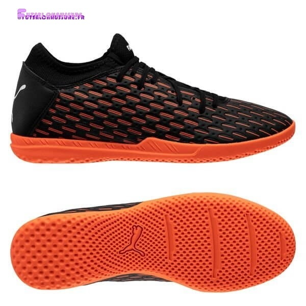 Rabais- Puma Future 6.4 IT Chasing Adrenaline Noir Blanc Orange