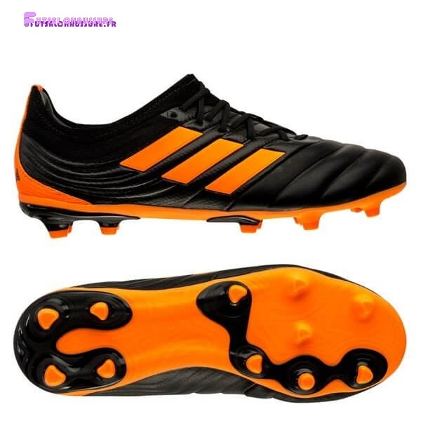 Rabais- Adidas Copa 20.1 Enfant FG/AG Precision To Blur Noir Orange