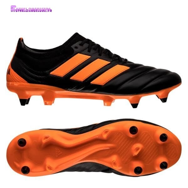 Rabais- Adidas Copa 20.1 SG Precision To Blur Noir Orange