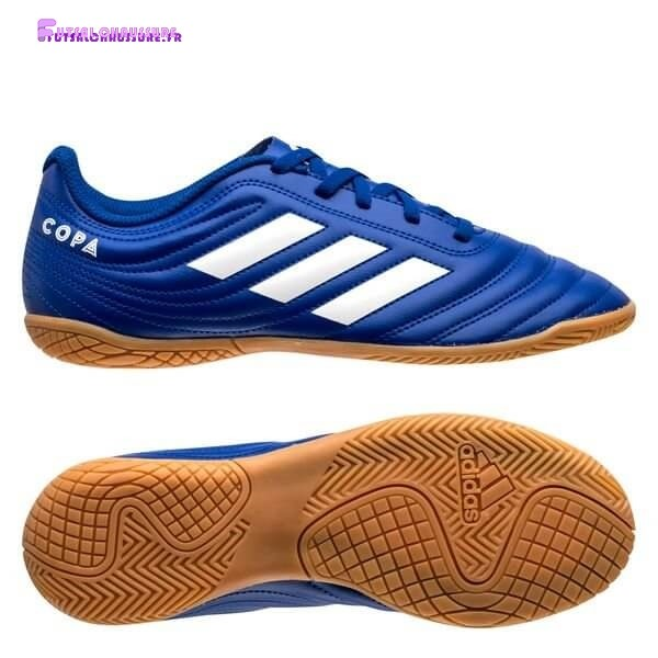 Rabais- Adidas Copa 20.4 Enfant IN Inflight Royal Bleu Blanc