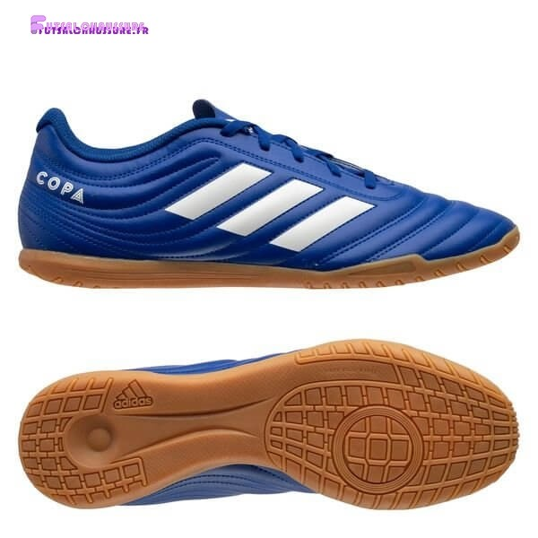 Rabais- Adidas Copa 20.4 IN Inflight Royal Bleu Blanc