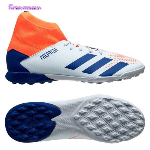 Rabais- Adidas Predator 20.3 Enfant TF Glory Hunter Bleu Blanc Orange