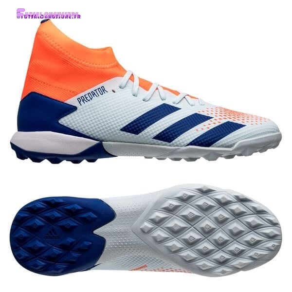 Rabais- Adidas Predator 20.3 TF Glory Hunter Bleu Blanc Orange